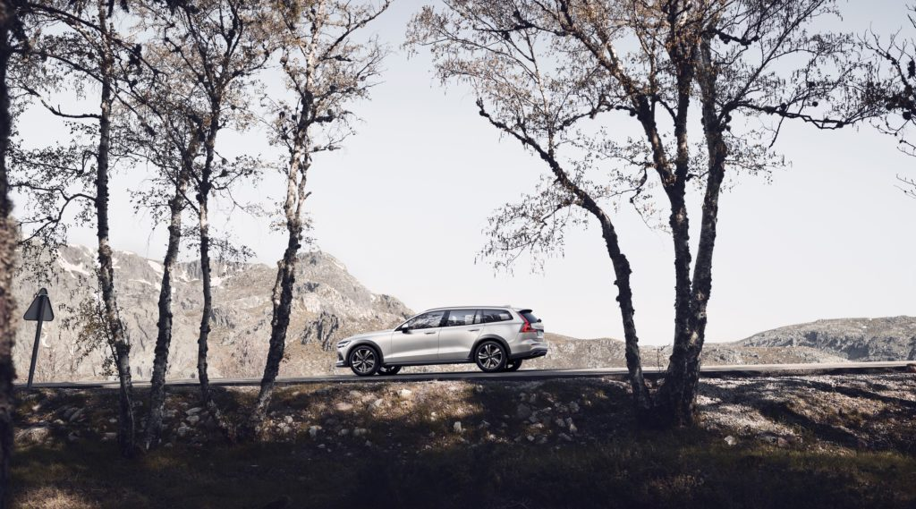 New Volvo V60 Cross Country exteriér