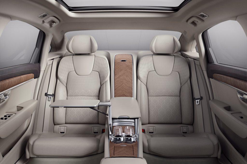 Volvo S90 Excellence Interiér zadní část